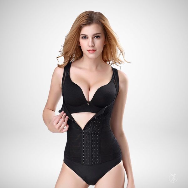 Braless Body Shaper Black